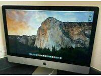 Apple iMac 27' 2.8Ghz Quad Core i5 16GB 1TB HD Logic Pro X Sibelius Plugin AllianceMelodyne Absynth