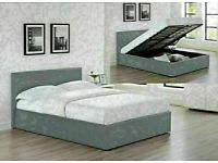 🔵💖🔴MANY MATTRESSES RANGE🔵💖🔴SINGLE-DOUBLE+SMALL DOUBLE & KING SIZE OTTOMAN LEATHER BED FRAME