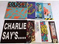Vinyl LP's and 12 inch Records, 80's 90's Pop, Hip Hop, Dance Music