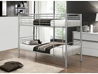 BRAND NEW - VERY STRONG METAL BUNK BED - PERFECT FOR CHILDREN AND SUITABLE FOR ADULTS