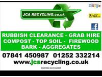 Rubbish Clearance Waste Removal Garden House Clearance Skip Hire Tipper Hire Digger Tip Run