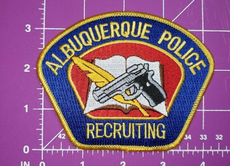 Albuquerque New Mexico POLICE recruiting-shoulder patch