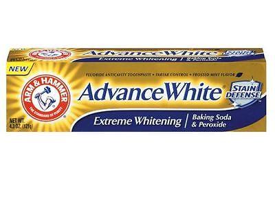 ARM - HAMMER Advance White Toothpaste Baking Soda and Peroxide Fresh Mint (Hammer Advance White Toothpaste)