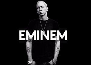 Eminem Music Star Silk Cloth Poster 20 x 13