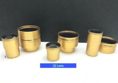 Lot Schneider Super Cinelux 35mm Movie Cinema Projector Lens 2/52,5mm 62,5  40mm
