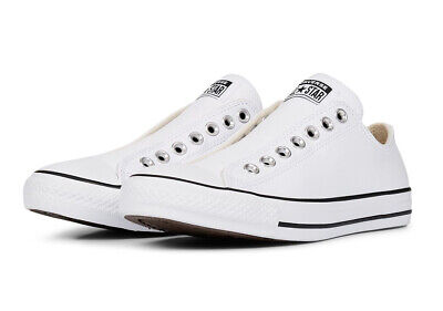 Chuck Taylor All Star Leather Slip White/Black Size Men's UK 13