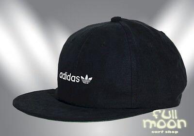 3e6e3cb4874 New Adidas Men s Relaxed Flat Rim Strapback Cap Hat
