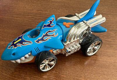 Hot Wheels Sharkruiser Extreme Shark Cruiser Car Lights & Sounds Toy State 2013!
