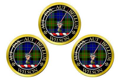 Wilson Gunn Escocés Clan Pelota Golf Marcadores
