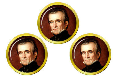 President James Polk Golfball Markierer online kaufen