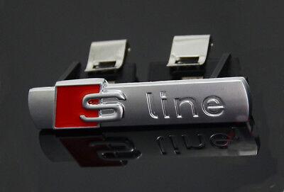 S Line Badge Original OEM Front Grill Emblems Chrome Decal Badges All Model