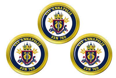Uss Anapolis (SSN-760) Oro Marcadores de Bolas