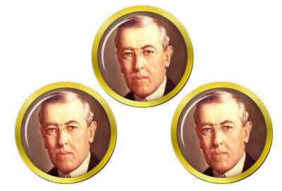 President Woodrow Wilson Golf Marcadores de Bolas