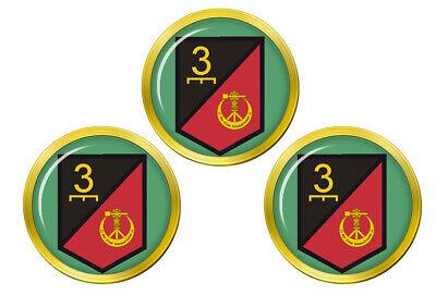 3 Mecánico Irlandés Defensa Fuerzas Pelota Golf Marcadores
