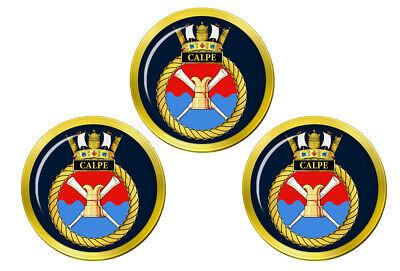 Hms Calpe, Royal Azul Marino Pelota Golf Marcadores