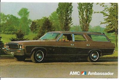 AMC Ambassador Station Wagon Dealer Postcard  Unposted for sale  Shipping to Canada