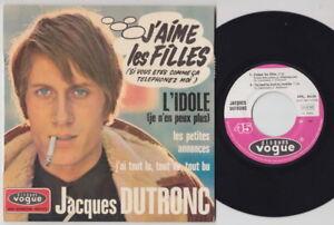 Jacques DUTRONC * 1967 French PSYCH GARAGE FREAKBEAT MOD EP * Listen!