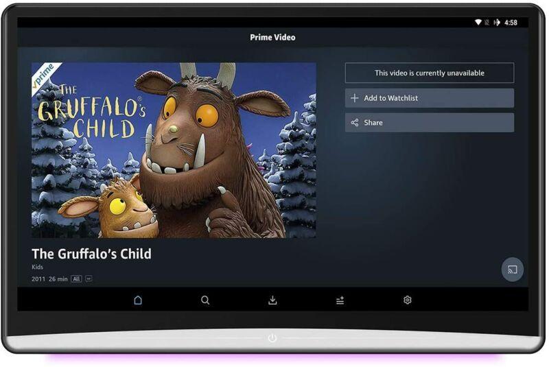 """DDAuto 13.3"""" Android 9.0 Car Headrest Monitor DD133A (Single)"""