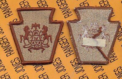 Verzamelingen US Army Service Forces ASF Desert DCU shoulder patch m/e type B Overig
