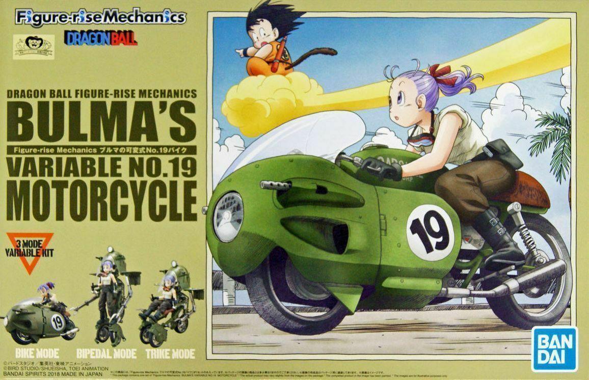 Bandai Dragon Ball Z Bulma S Variable No 19 Bike Model Kit Figure Rise Mechanics 4573102553355 Ebay