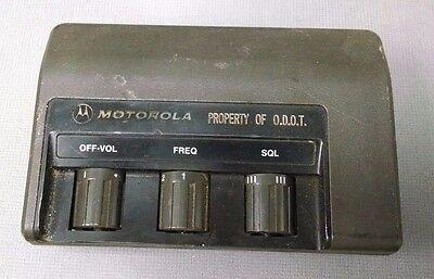Vintage Motorola Maratracmitrek Clam Shell Control Head Ycn4012a