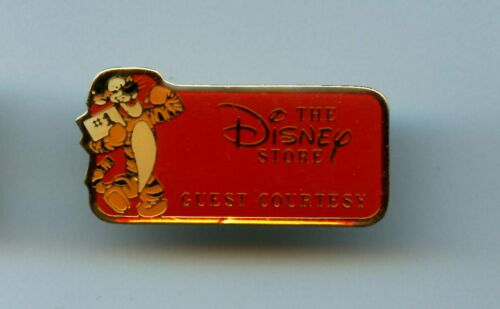 The Disney Store Cast Award Guest Courtesy Tigger RED Version Pooh Pin
