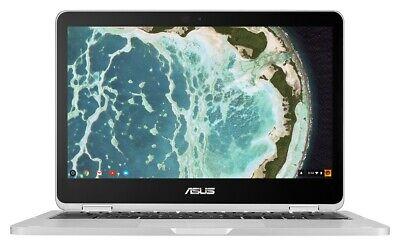 Asus C302 12.5 Inch 4GB 64GB eMMC Intel M6 Chromebook - Silver