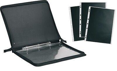 Präsentationsmappe DIN A2 + 20 PVC-Sichthüllen - 675744+20