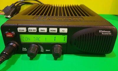 Ef Johnson Ascend 5300 Es 700800 Mhz Smartnet Aes Des P25 Digital Mobile Radio