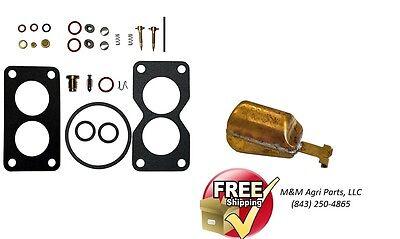 Carburetor Kit Float John Deere 50 520 530 60 620 630 70 720 730 Tractor Dltx
