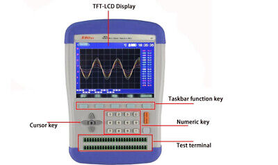 Handheld 16-channel Thermocouple Pt100 Temperature Meter Recorder 5.3tftlcd Usb