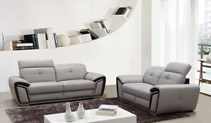 Navara 3 + 2 Leather Lounge Punchbowl Canterbury Area Preview