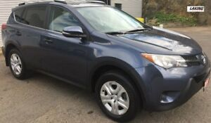 2013 Toyota RAV4 LE REAR VIEW CAMERA BLUETOOTH One Owner, No Acc