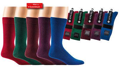 """Socks4Fun 2 Paar Herren Socken mit Komfortbund """"Color your Life""""  bis Gr. 47/50"""
