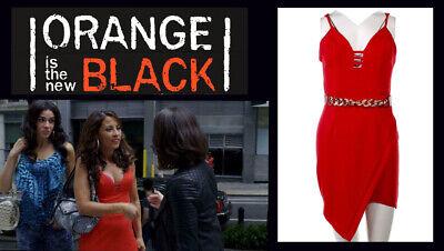 OITNB Aleida Elizabeth Rodriguez Screen Worn Dress Ep 506 w/Studio COA