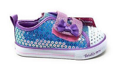 Skechers Little Girls Twinkle Toes Mini Mermaid Sneakers Mul