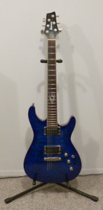 Ibanez S2520 Blue Agave with DiMarzio Pickups