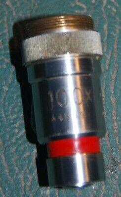 microscope objective x 100 no brand name for sale  Borehamwood