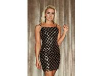 Size 8 sequin mini dress