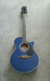 SX Electric Acoustic guitar with built in tuner