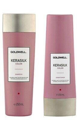 Kit Shampoo + Conditioner Goldwell Kerasilk Color Capelli Colorati