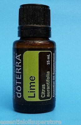 doTERRA LIME Essential Oil 15ML -  Brand New Sealed - FREE SHIPPING!