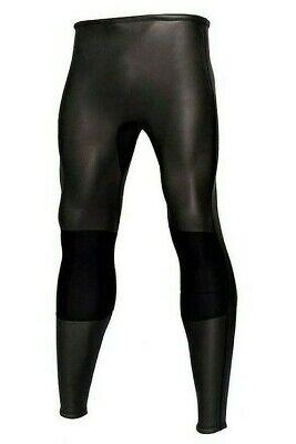 Wetsuit Pants Mens Black 2mm Smooth Skin Neoprene 2 mm Surf Dive Swim (Neoprene Wetsuit Pants)