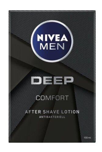 Nivea Men Deep Comfort After Shave Lotion Rasur Antibakteriell 100 ml.