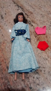 Vintage Midge doll by Mattel from the 1960's.