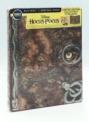 Hocus Pocus (Blu-ray+Digital, 2018; Only @ Best Buy Limited Ed. Steelbook) OOP - Best Halloween Family Movies