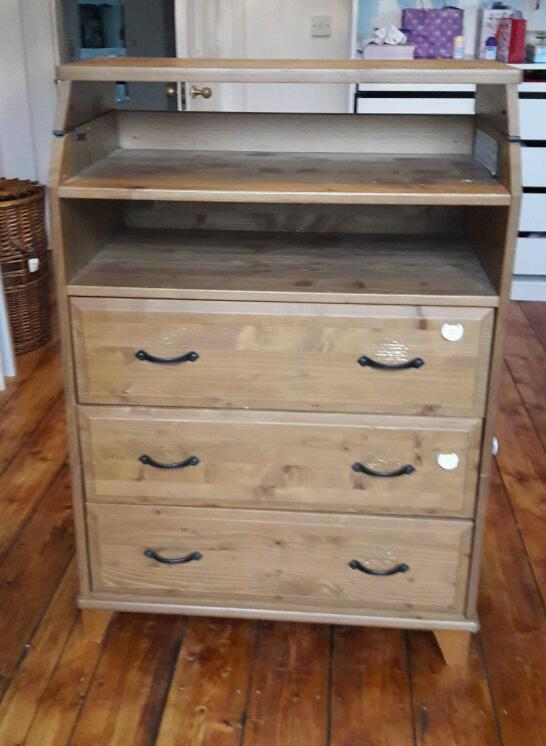 IKEA Diktad Baby Changing Table Chest Of Drawers