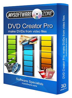 DVD Creator Pro - Convert Any Video into a DVD Authoring Avi Divx PC software CD Any Dvd Video Converter