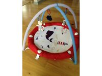 Mothercare Whale baby gym/play mat