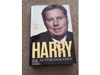 Harry Redknapp autobiography brand new